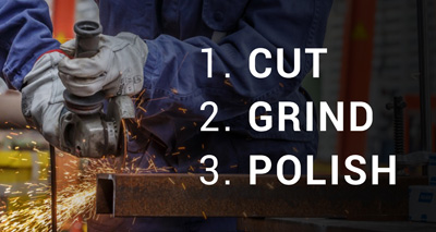 ONE WHEEL – CUTS, GRINDS, POLISHES