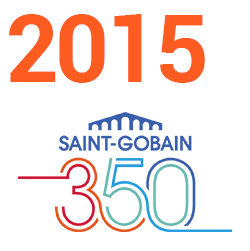 2015 - 350 years of Saint-Gobain