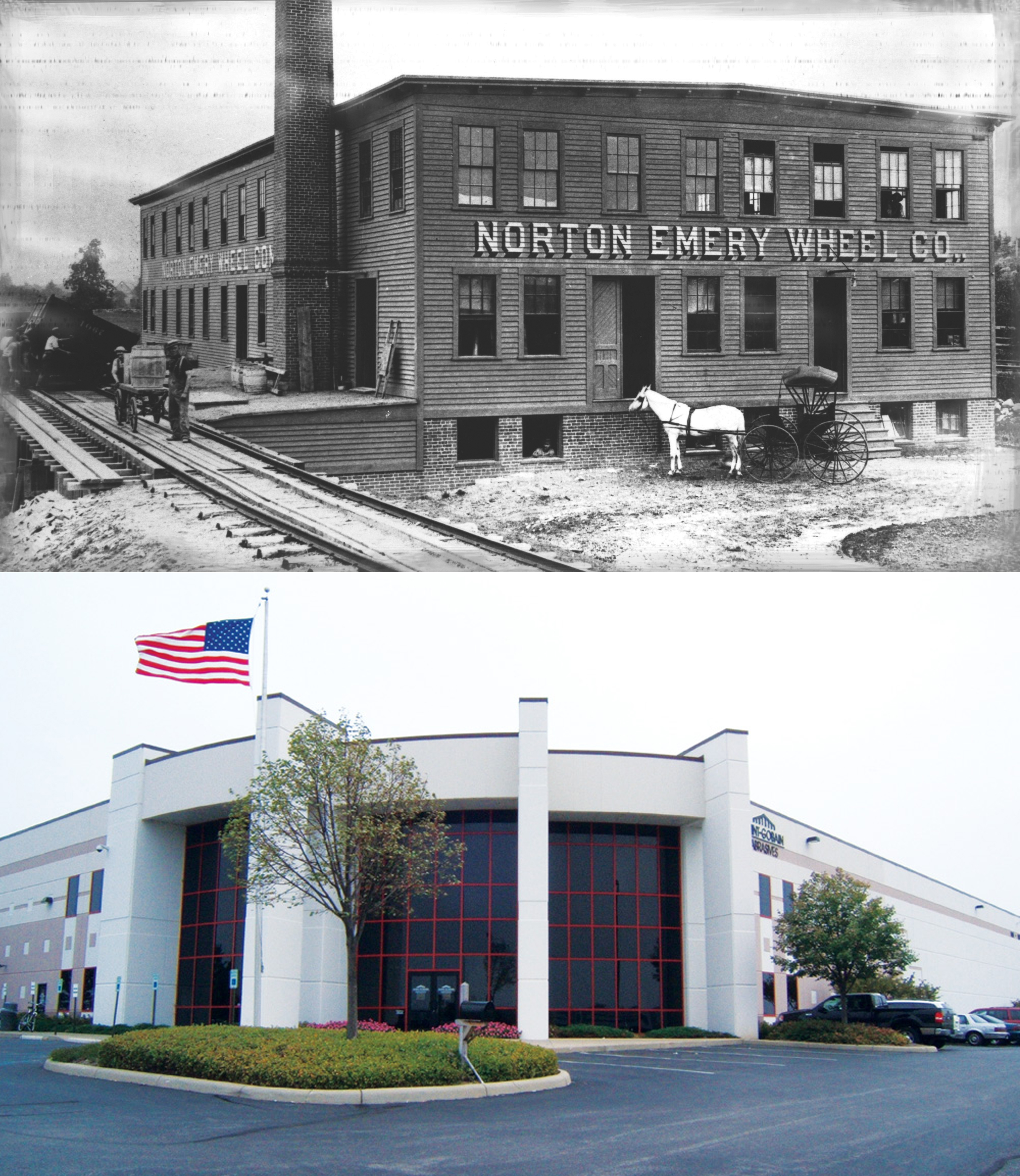 Norton Company 1885 and Today