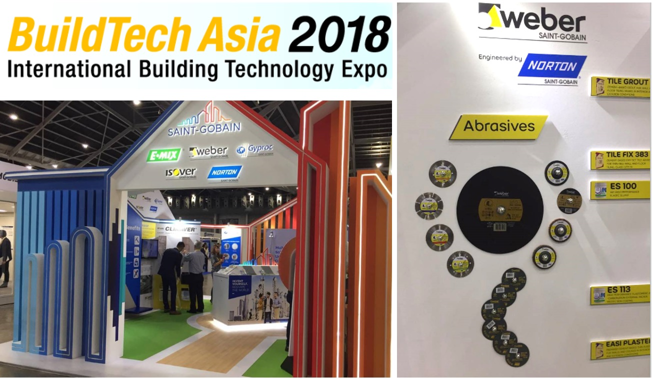 Weber by Norton at buildtech asia 2018