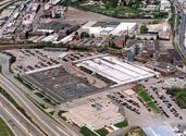 Norton Worcester Greendale Campus - aerial view