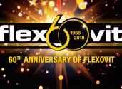 Flexovit juhlii 60-vuotisjuhlavuottaan