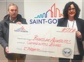 """Saint-Gobain Abrasivos colabora con la fundación Banco de Alimentos de Navarra con el proyecto """"Un Kilo de Solidaridad""""."""