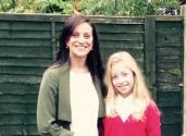 MacMillan charity - Charlotte and Grace