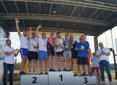 2 miejsce drużyny Saint-Gobain HPM Polska w kategorii sztafeta na River Triathlon
