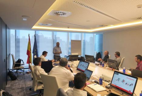 Reunión comercial Saint-Gobain Abrasivos en Madrid