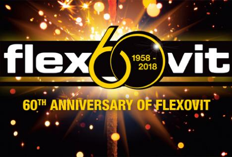 Flexovit celebrates 60 years