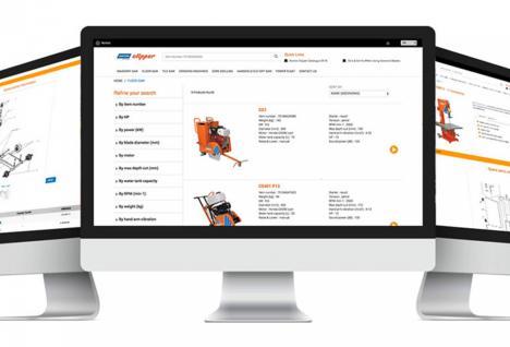 Norton Clipper Ersatzteil-Website