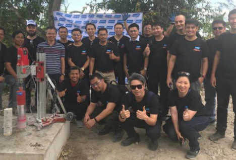 CP training for customers and SEA sale team in San Fernando, Philippines.
