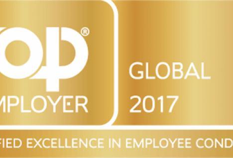 Saint-Gobain Top Global Employer 2017
