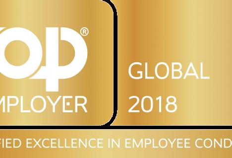 A világ legjobb munkáltatója 2018-ban