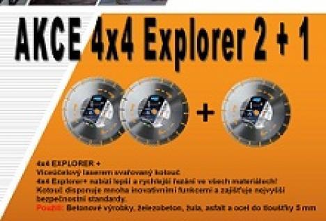 akce 4x4