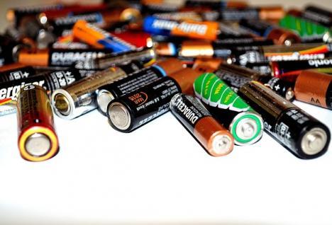 zużyte baterie