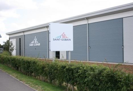 saint-gobain site move UK