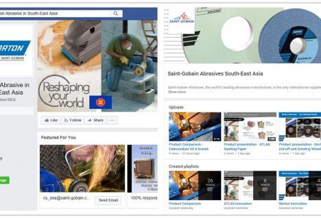 Sør-Øst Asia Facebook & YouTube